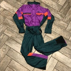 Vtg The North Face One Piece Gore Tex Ski Suit